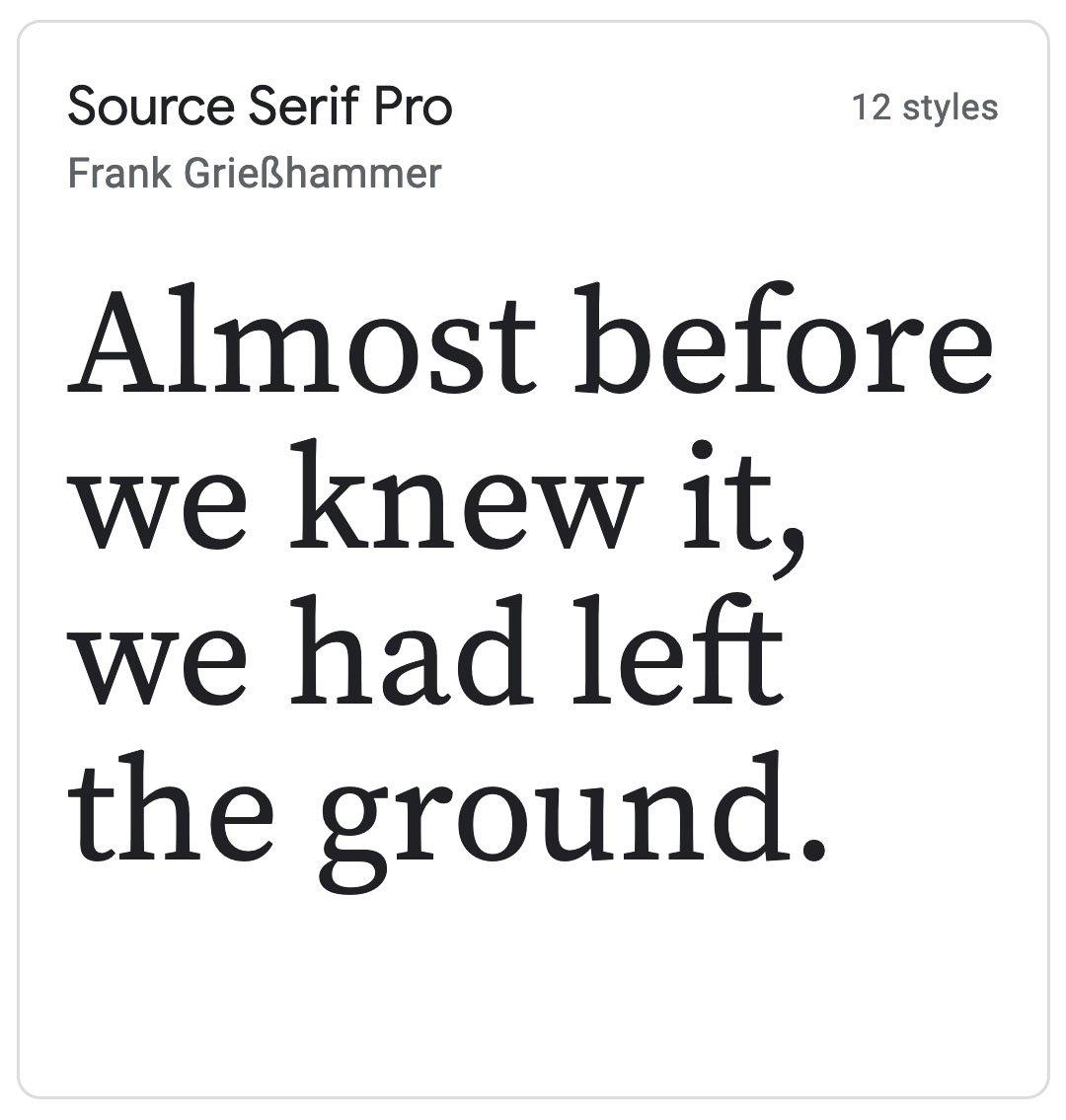 Enfold Fonts Source Serif Pro
